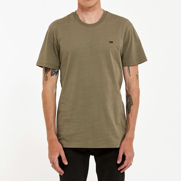 No Brainer Lee Tee Khaki