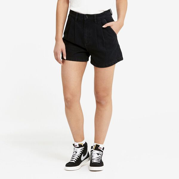 High Relaxed Short Frankie Black