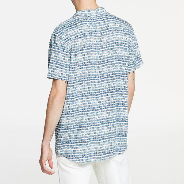 Brush Stroke Shirt White, WHITE, hi-res