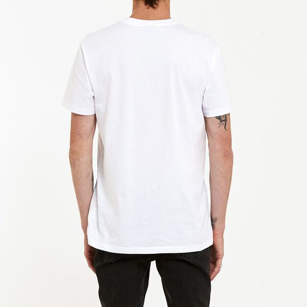 No Brainer Lee Tee White, White, hi-res