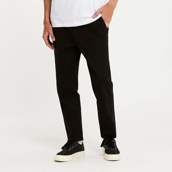 Z-Square Drill Pant Washed Black