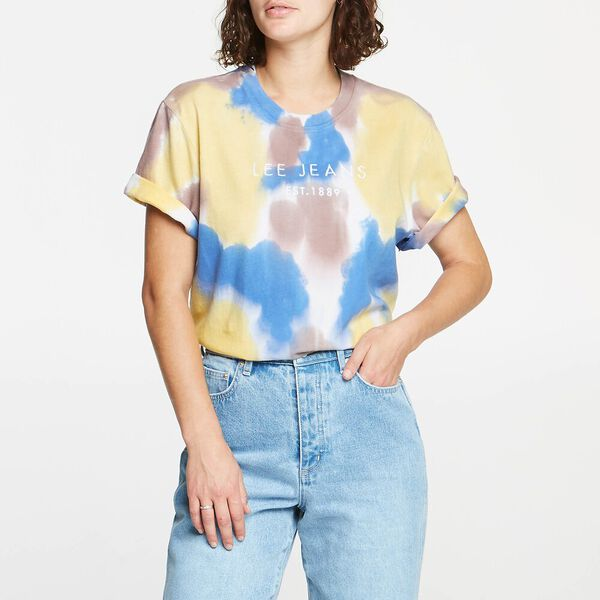 Relaxed Tee Multi Colour