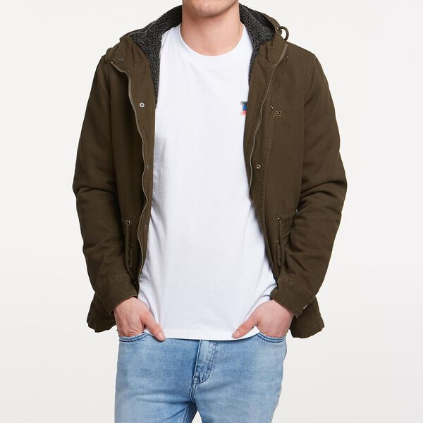 SUPPLY PARKA MILITARY GREEN