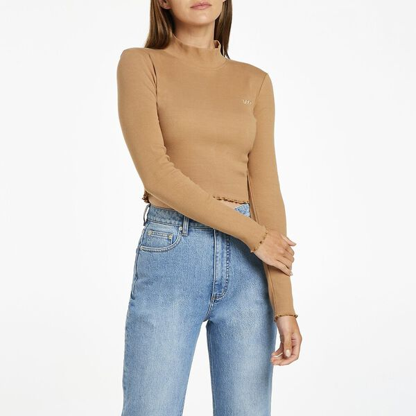 Lacie Crop Long Sleeve Top
