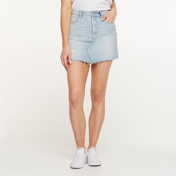 Riot Skirt Clear Water Air Denim