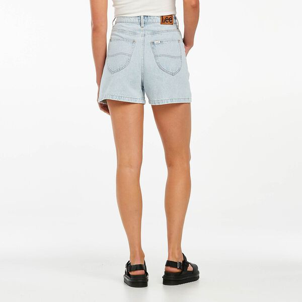 High Relaxed Short Mapo Blue, Mapo Blue, hi-res