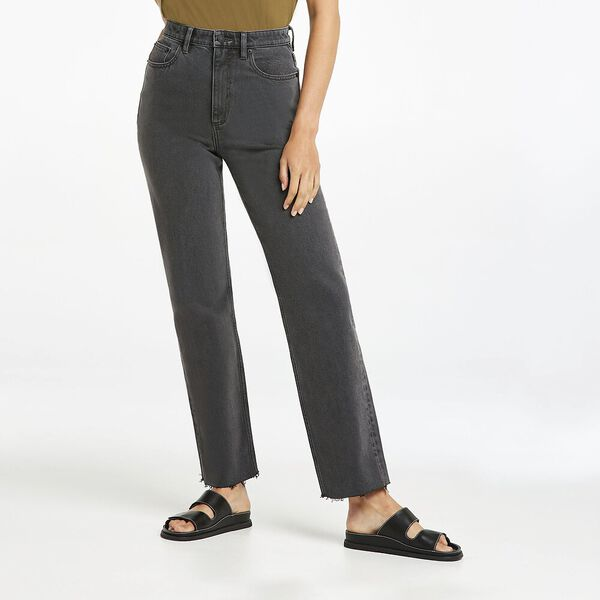 High Straight 80 Jean, Black Vintage, hi-res