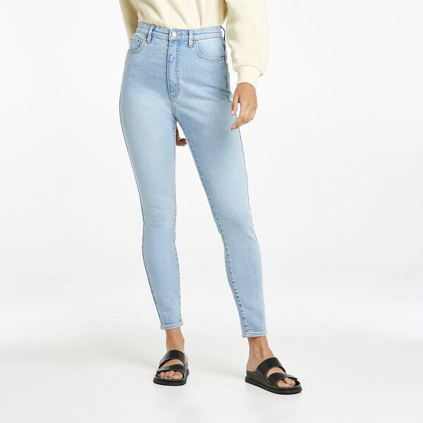 Hourglass High Licks Crop Skinny Jean