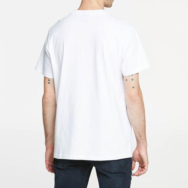 Lee Hollow Tee White, WHITE, hi-res