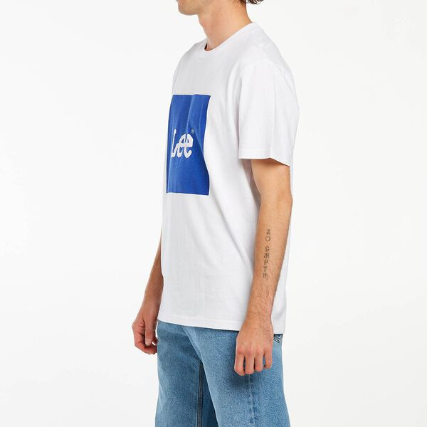 Lee Squared Tee Royal Blue, Royal Blue, hi-res