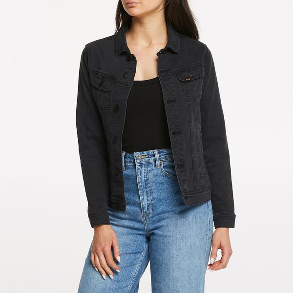 BOYFRIEND JACKET LUNAR BLACK