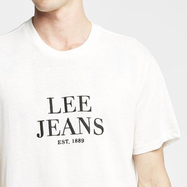 Lee Est 89 Tee, VINTAGE WHITE, hi-res