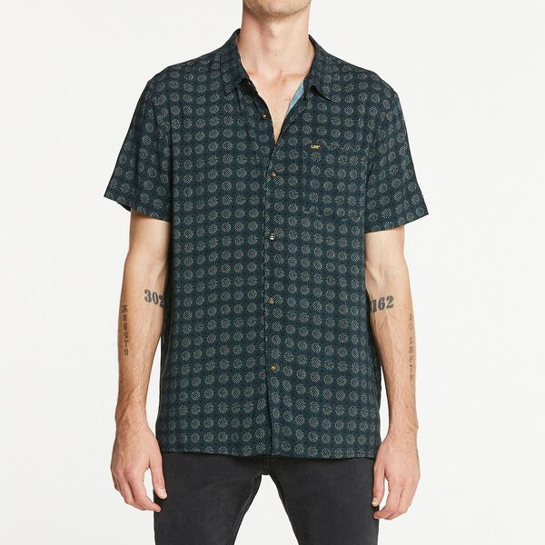 Pop Rocks S/S Shirt Jungle Green