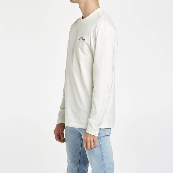 Lee Denim Co L/S Tee Recycled Cotton, Vintage White, hi-res