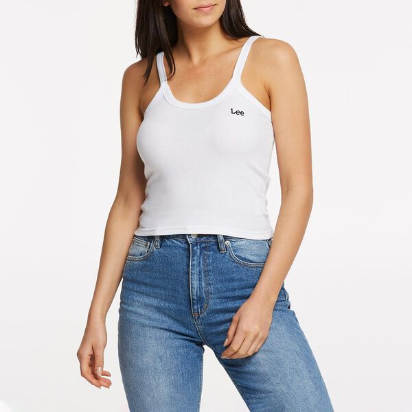 CLING CAMI WHITE