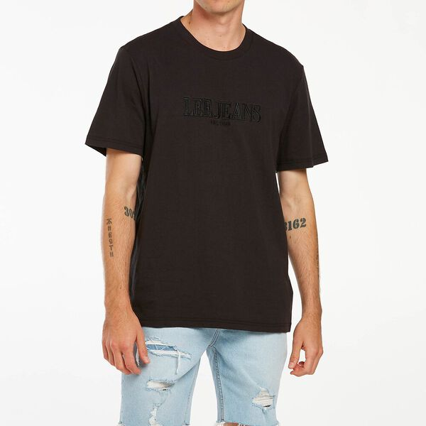 LEE RELAXED TEE ECLIPSE