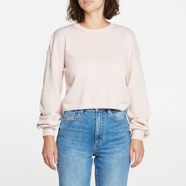 CROP KNIT DAWN ROSE