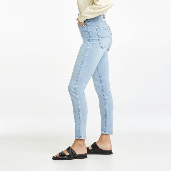 Hourglass High Licks Crop Skinny Jean, Optimal Blue, hi-res
