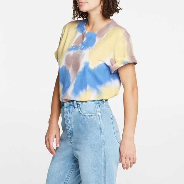 RELAXED TEE MULTI COLOUR, MULTI COLOUR, hi-res