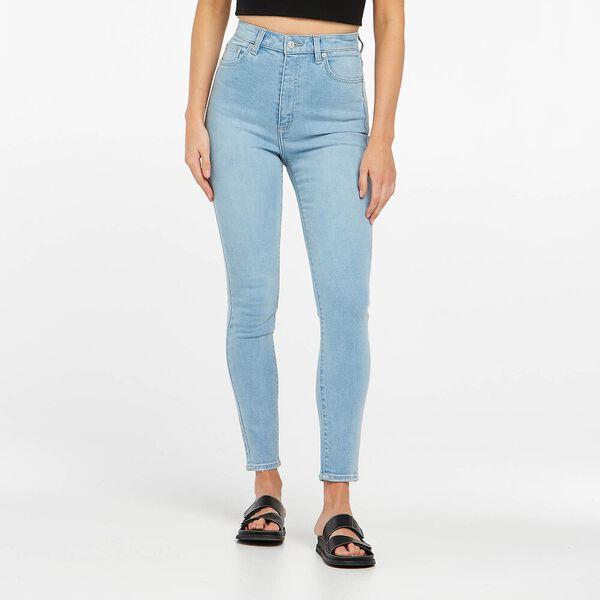 High Licks Crop Skinny Jean