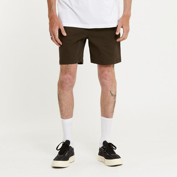 Union Drill Short Forest Green