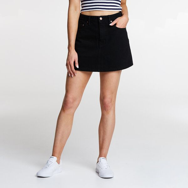 Lola Skirt Black Heat