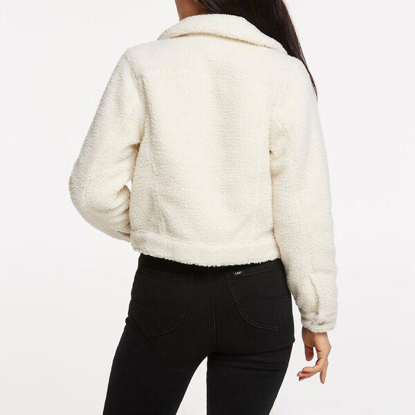 Sherpa Trucker Jacket Vintage White, VINTAGE WHITE, hi-res