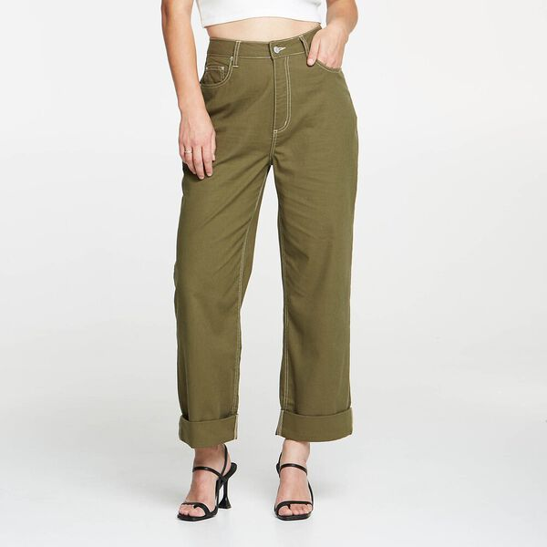 High Baggy Olive