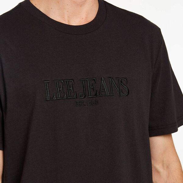 LEE RELAXED TEE ECLIPSE, ECLIPSE BLACK, hi-res