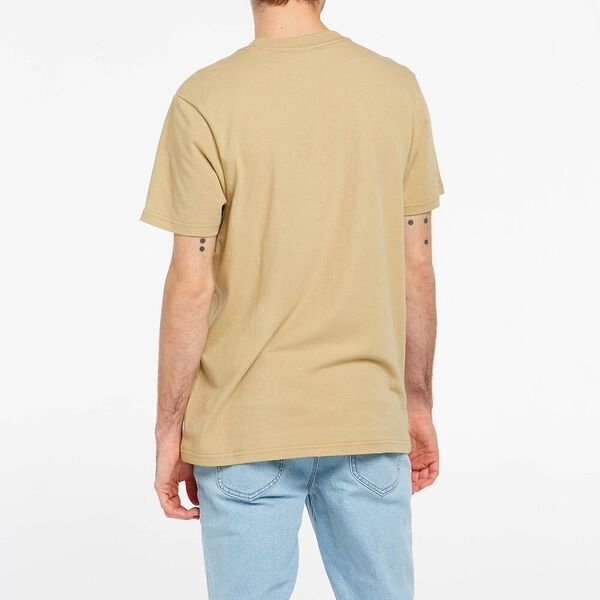 Lee Lines Tee Recycled Cotton, Sand, hi-res