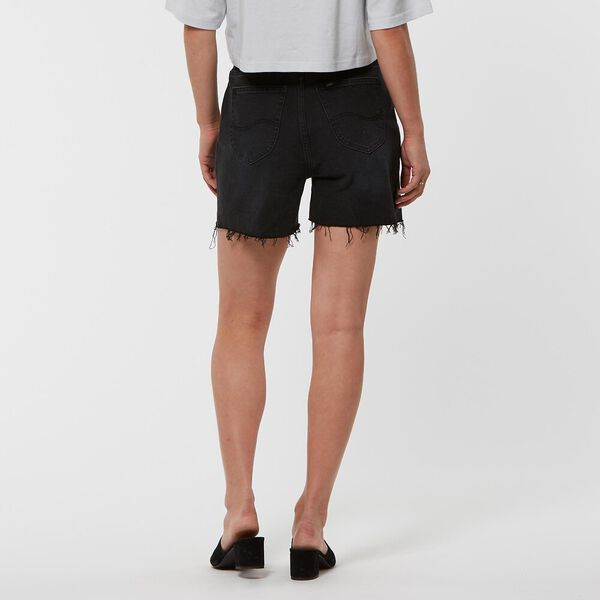 HIGH RELAXED SHORT AVID BLACK, AVID BLACK, hi-res