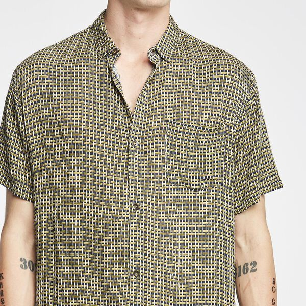 Basket Case S/S Shirt Navy, NAVY, hi-res