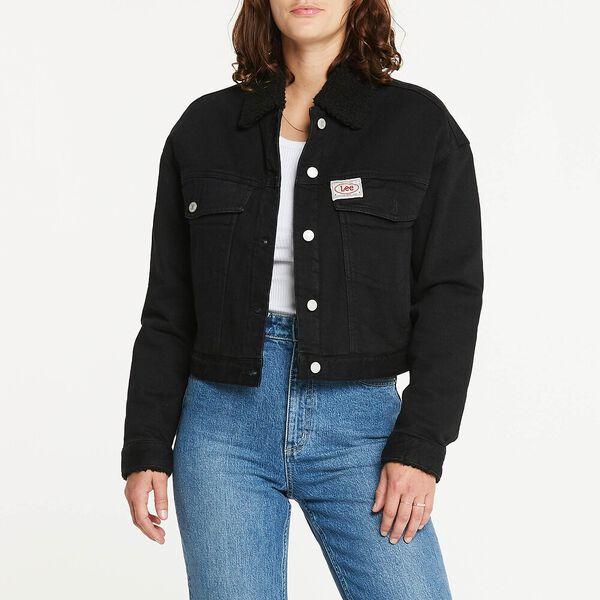 Volume Sherpa Jacket Bare Black