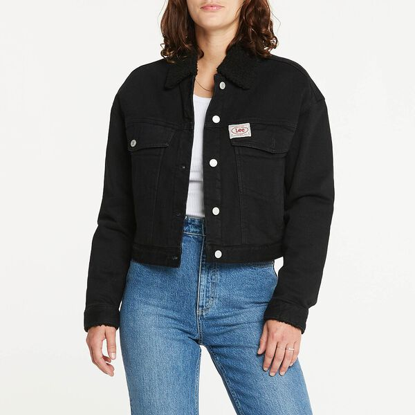 Volume Sherpa Jacket Bare Black