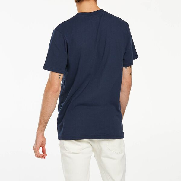 Classic Embroidery Tee Navy, Navy, hi-res