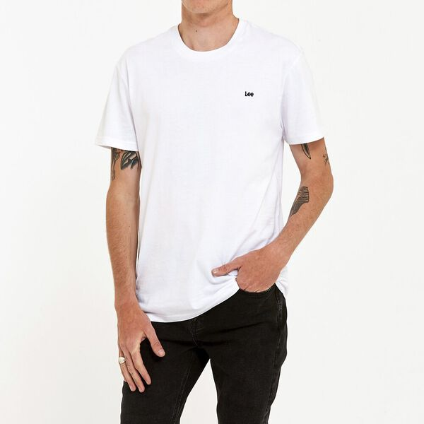 No Brainer Lee Tee White