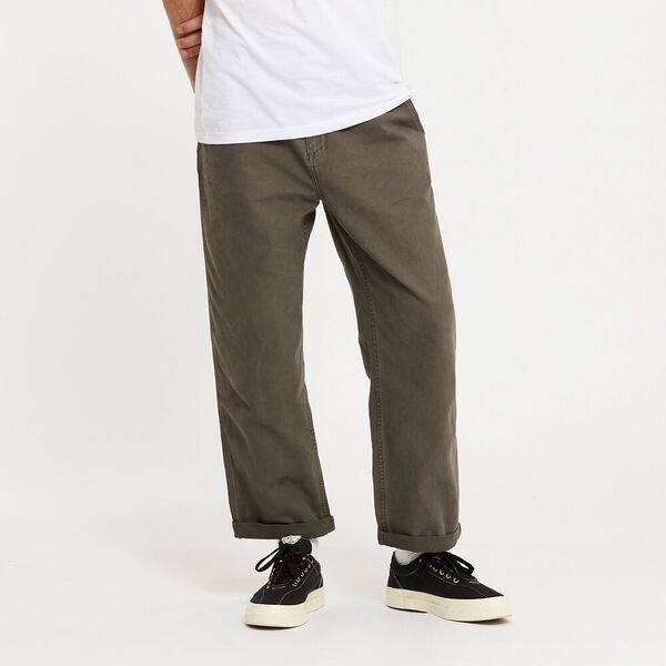 Lee Worker Pant Canopy Canvas, Canopy Canvas, hi-res