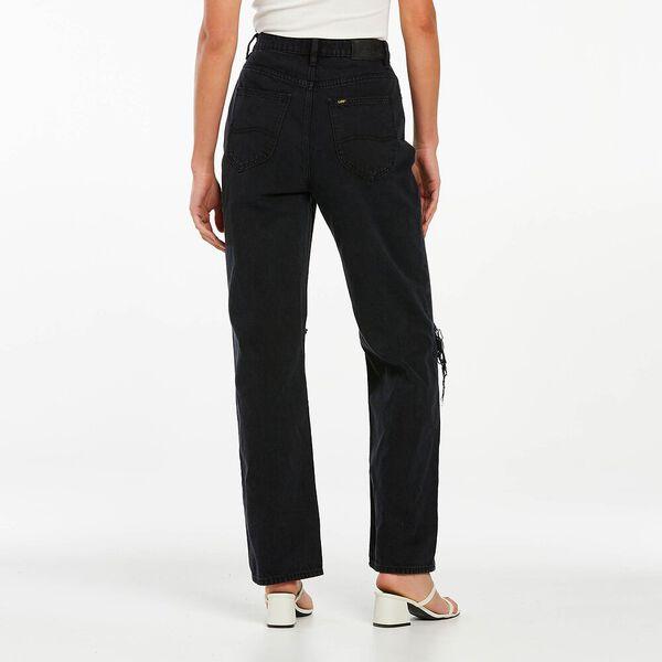High Baggy Eco Air Jean, Exalt Black, hi-res