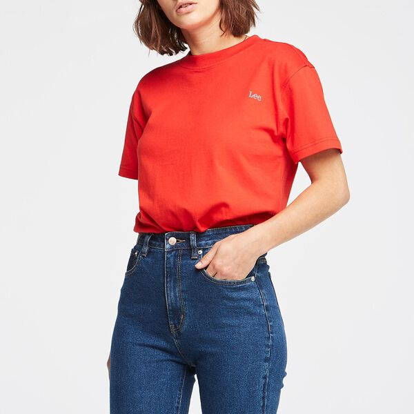 CLASSIC TEE RED, RED, hi-res