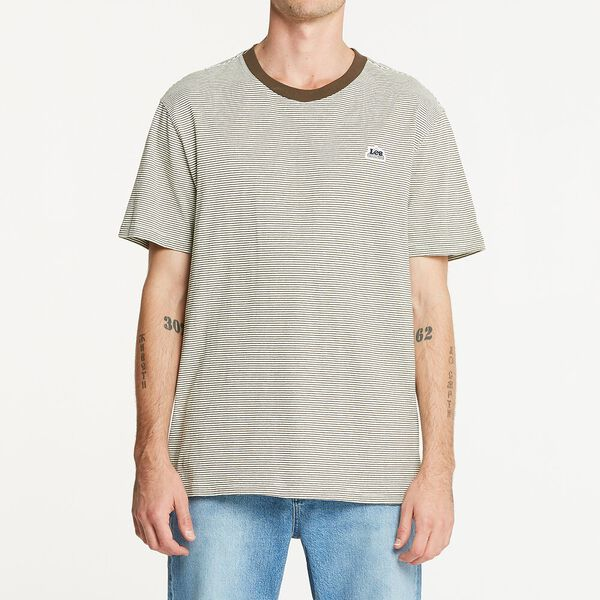 Union Made Tee Woodford Stripe