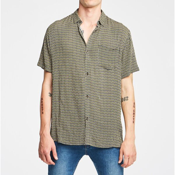 BASKET CASE S/S SHIRT NAVY