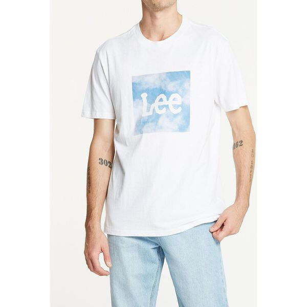 Relaxed Tee Air Blue