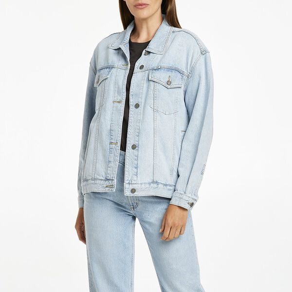 Baggy Oversized Denim Jacket Eco Air