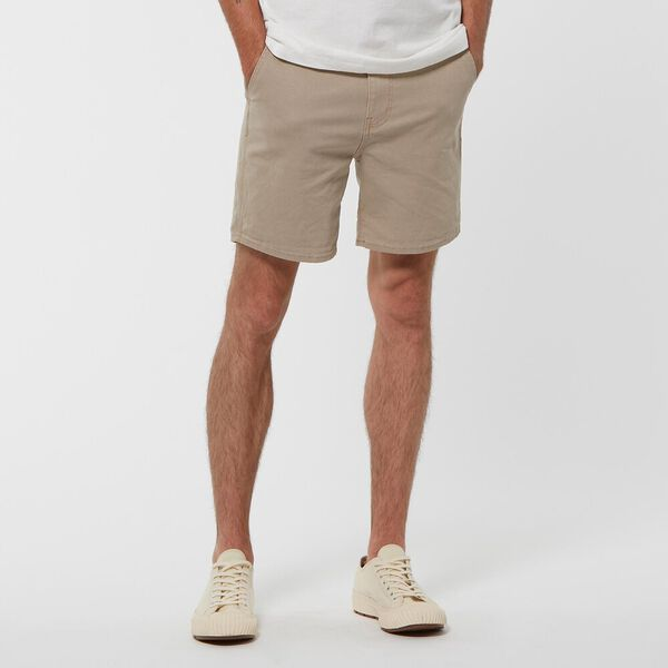 L-TWO UNION SHORT SAND CANVAS