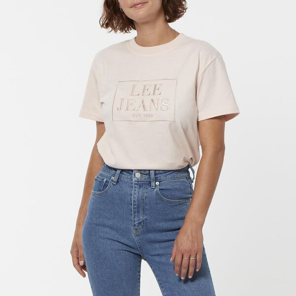CLASSIC TEE ROSEWATER