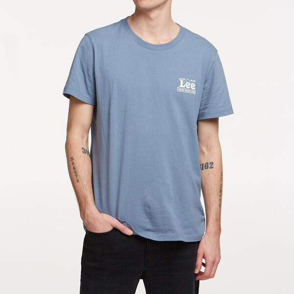 UNION TEE MIRAGE BLUE