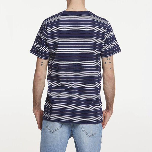 LEE EST 89 STRIPE TEE NAVY, NAVY, hi-res