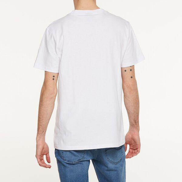 Twitch Logo Tee White/Red, WHITE/RED, hi-res