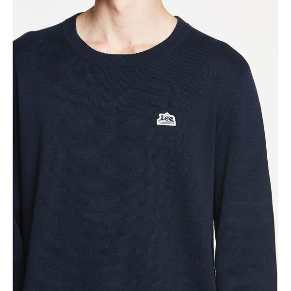 LEE UNION MADE KNIT NAVY, NAVY, hi-res