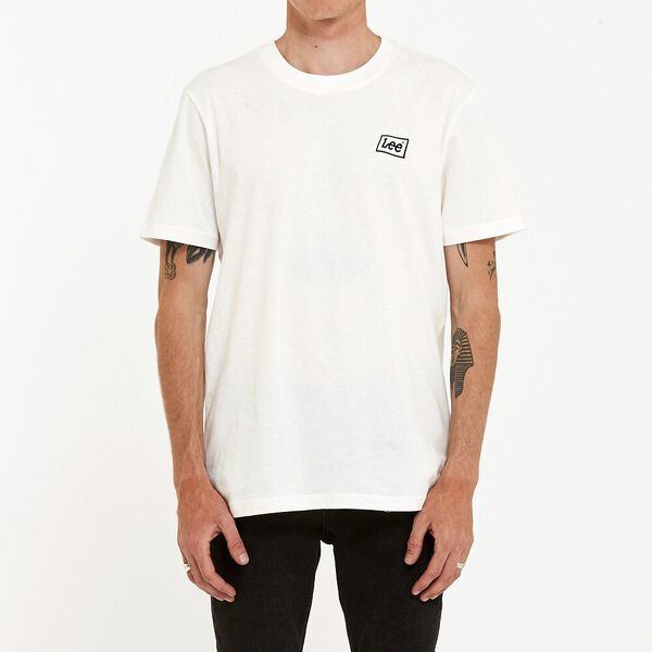 Lee Flag Tee Vintage White